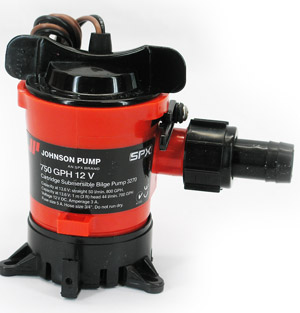 Johnson 750 GPH 12v Pump