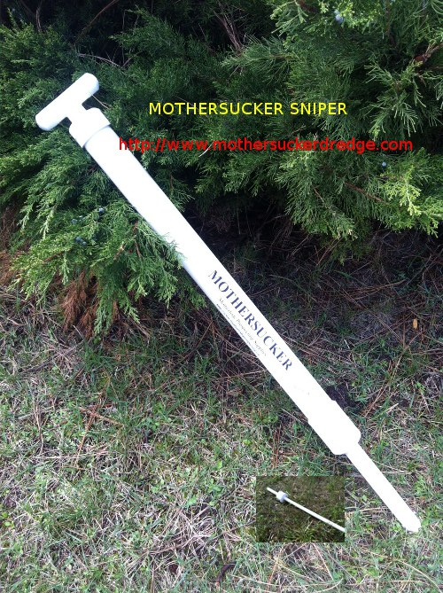 "MotherSucker Hand Dredge - 30.5"" - Sniper"