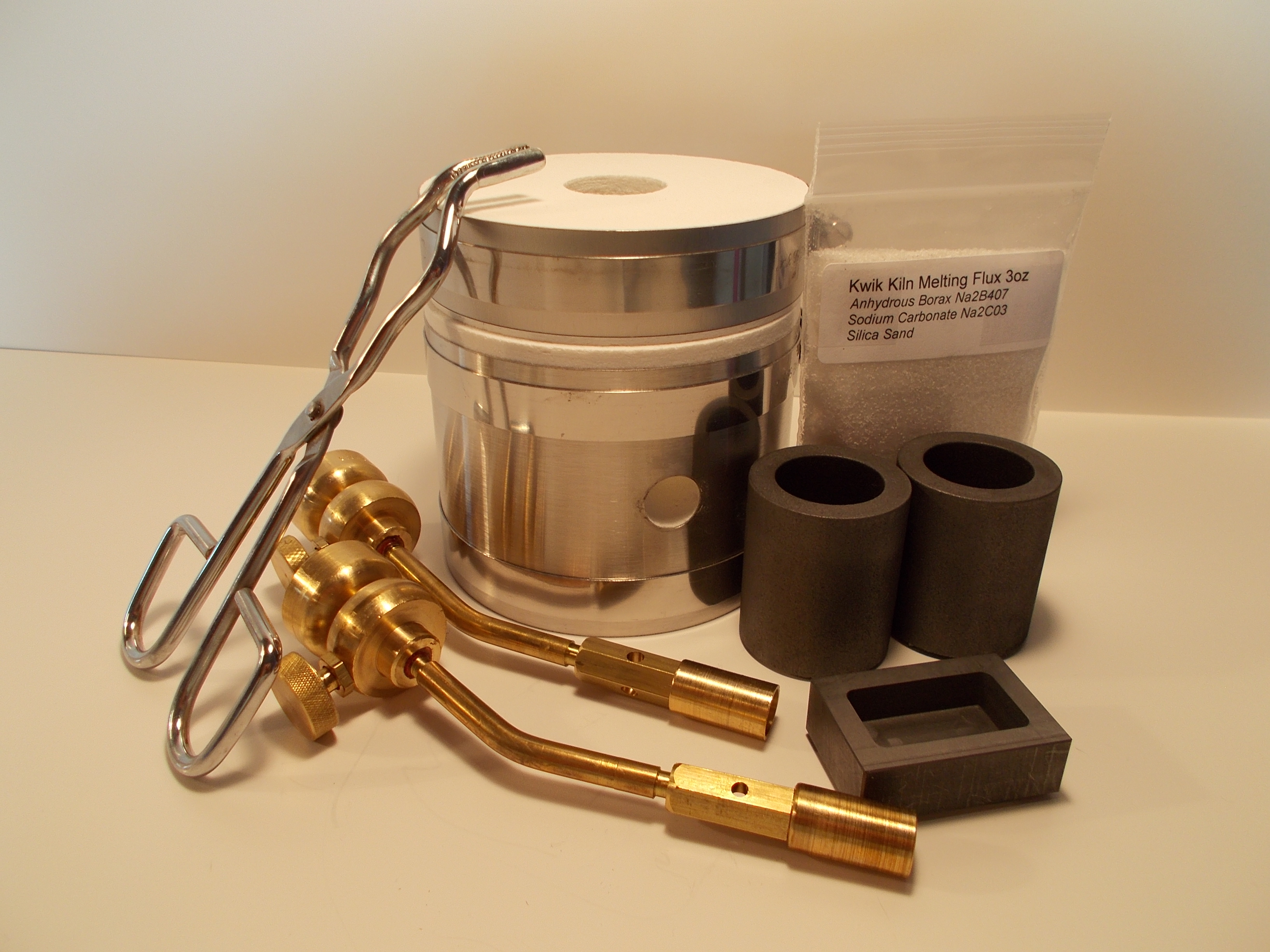 Deluxe Kwik Kiln Melting Kit ( with Torches)