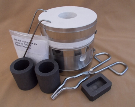 Deluxe Kwik Kiln Melting Kit ( without Torches)
