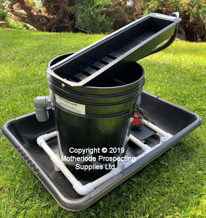 Black Scorpion Mini-Concentrator Bucket Pak