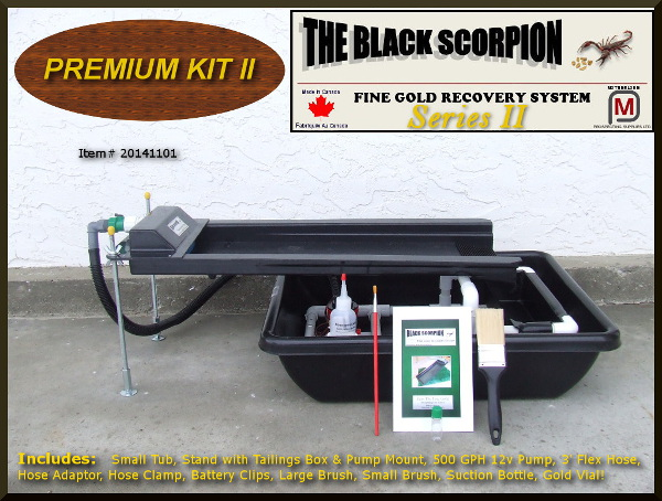 Black Scorpion Premium Kit II