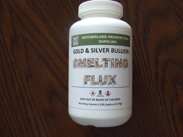 Gold & Silver Bullion Flux - 1 lb